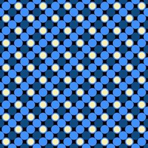 Pillow Fight - Color 1 - Blue Dots