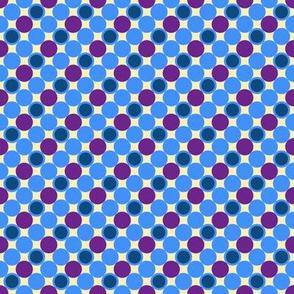 Pillow Fight - Color 1 - Purple Dots