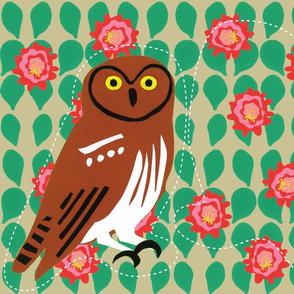 Elf Owl - Cut & Sew
