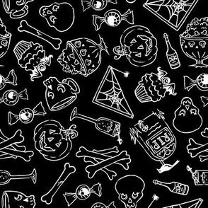 Halloween Jumble -black version