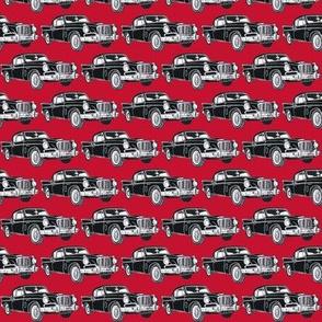 1957 1958 Studebaker Hawk black on red