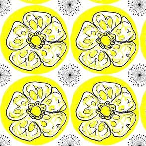 June bloom_white