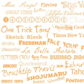 Fonts and more fonts.....-ch-ch-ch-ch