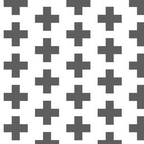 Crosses Gray