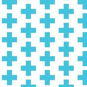 Crosses Aqua