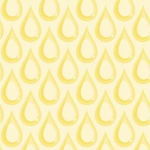 Raindrops - Yellow