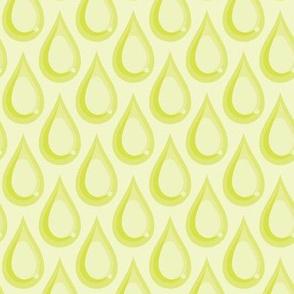 Raindrops - Lime