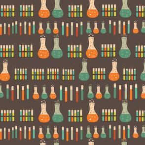 chemistry lab vials