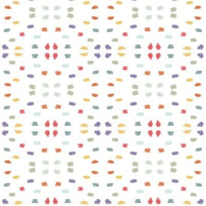 Festive watercolor dots