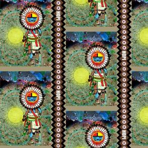 Dance in the Desert of Tawa Kachina