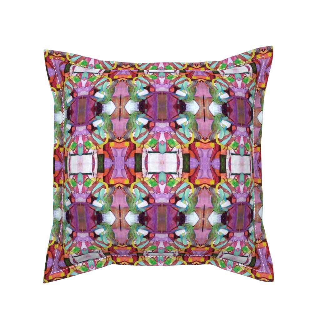 Serama Throw Pillow featuring 10 by susanprice