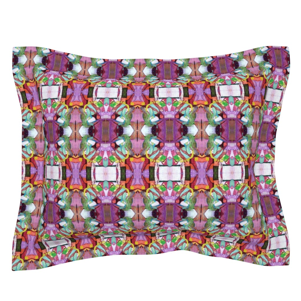 Sebright Pillow Sham featuring 10 by susanprice