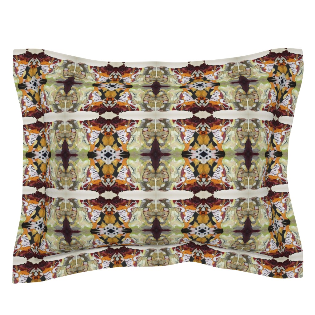 Sebright Pillow Sham featuring new_fall_2013 by susanprice