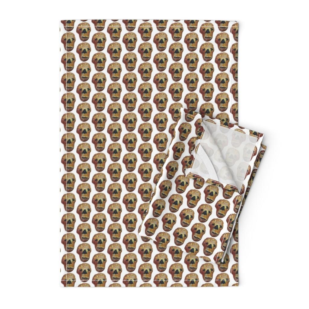 Orpington Tea Towels featuring Pan_de_Muerto_no_rack by susanprice