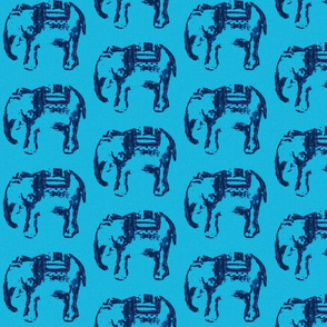 stamped elly blue