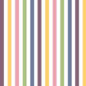 Soft Spring Stripes