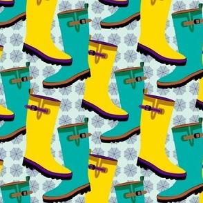 Rain Boots Colorful