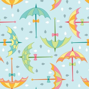 Spring Umbrellas (April)