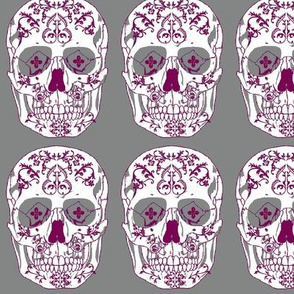 Day of the Dead type skull