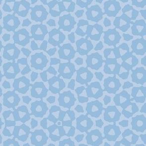 quasicrystal in shadow blue