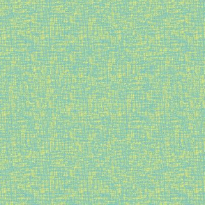 yellow and teal linen texture