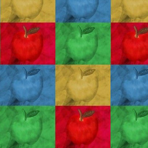 Colorful Apples Abstract