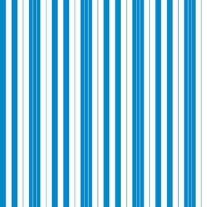 nautical stripes deep blue and white