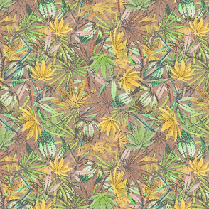 Yellow 420 Leaf Mix