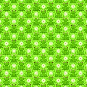 02982540 : field of frogs