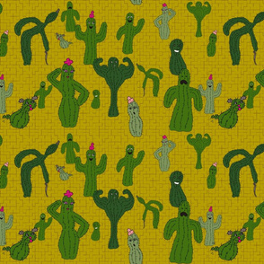 A Cactus Family Reunion