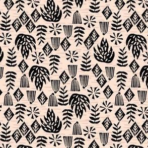 Safari Plants - Blush (Custom color/ size) by Andrea Lauren