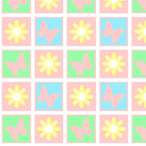 Shabby Quilt Baby Pink
