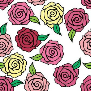 Rose Tattoo Flower