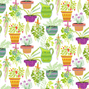 Organic Fruitation Herbs: White