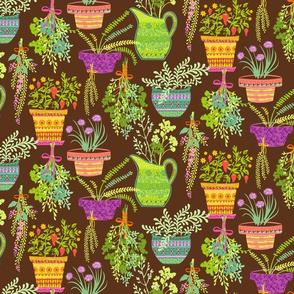Organic Fruitation Herbs: Brown