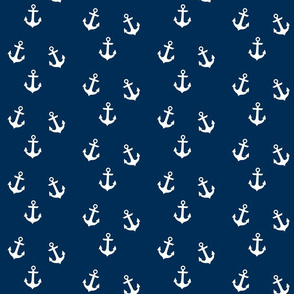 Anchors on Navy