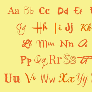 The Alphabet-ch-ed