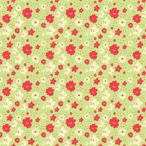 Flower Petal Green