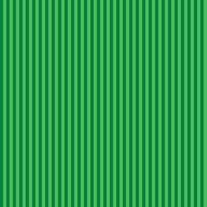 Christmas green mini-stripe