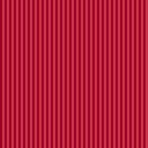 Christmas red mini-stripe