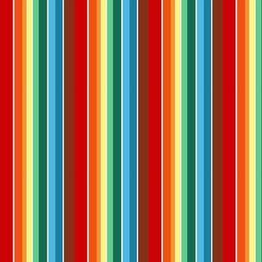 Chocolate Rainbow Stripes