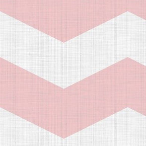 Linen Luxe ~ Chevrons ~ Dauphine and White