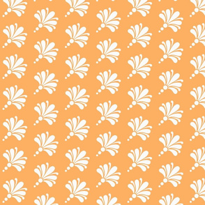 Flourish Bouquet orange white