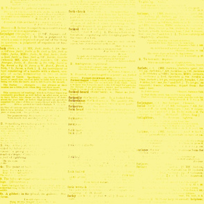 yellow dictionary