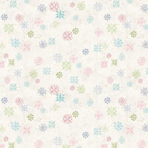 Vintage Snowflake Wallpaper