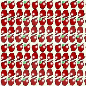 Shiny Apples for the Teacher-w/snails!