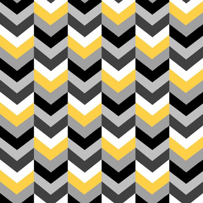 Yellow, Black and Gray Arrows