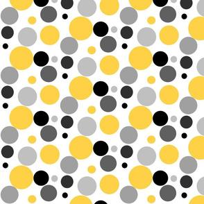 Dots yellow gray black