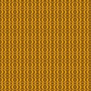 retro waves brown