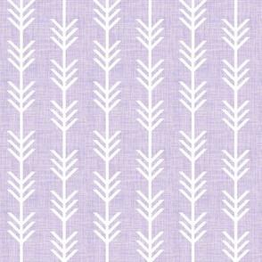 lilac linen arrow stripes